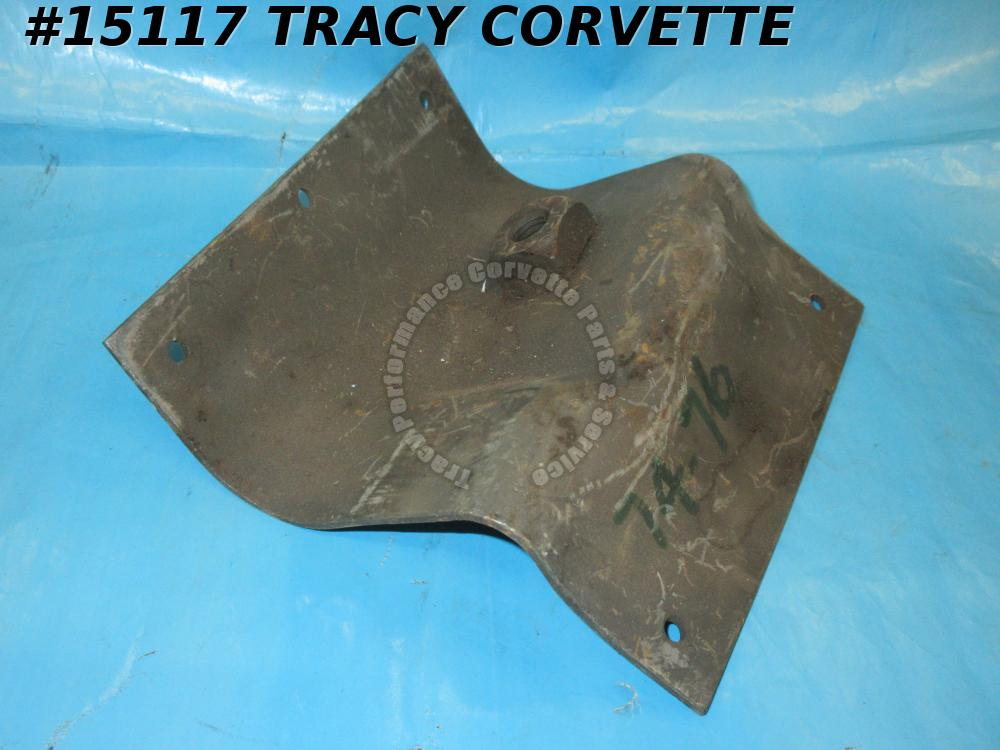 1974-1976 Corvette Seat Belt Shoulder Harness - Right Reinforcement - 1974 Late