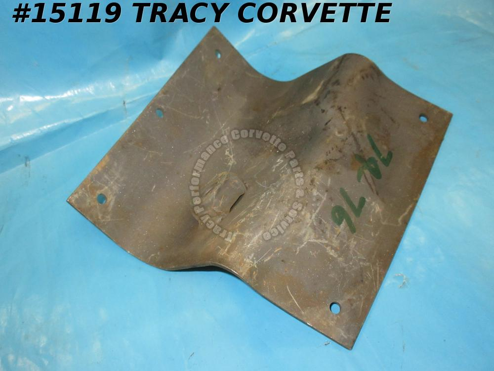 1974-1976 Corvette Seat Belt Shoulder Harness - Left Reinforcement - 1974 Late