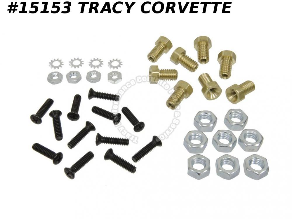 1970-1982 Corvette Rocker Moulding Mount Repair Kit