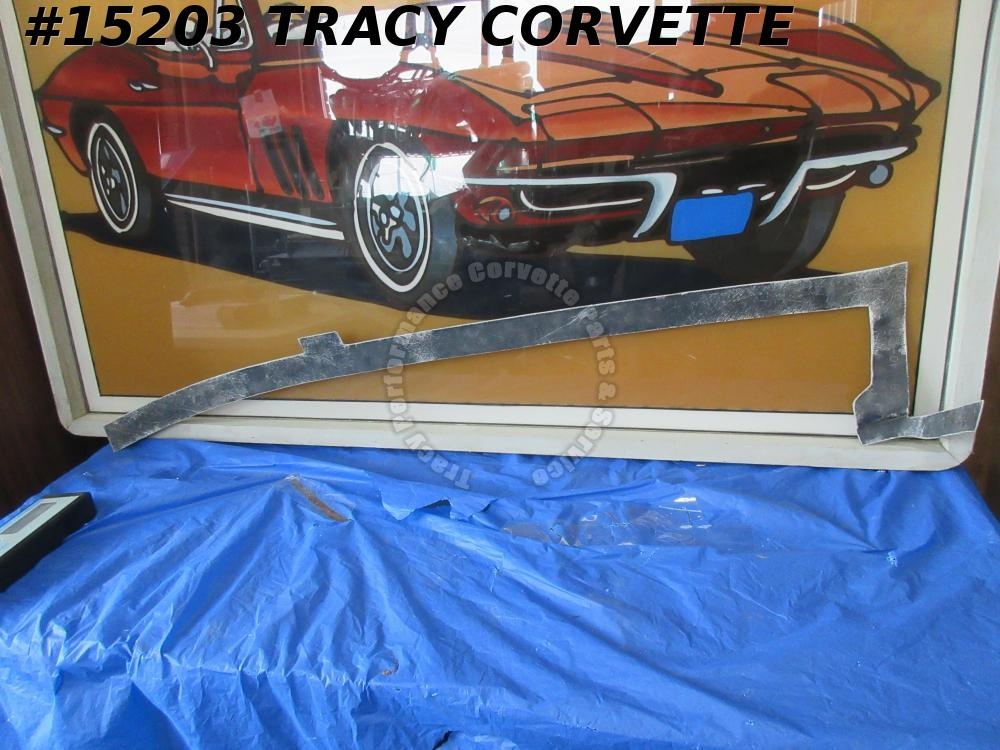 1968-1973 Corvette Quarter Panel Bonding Strip 3912902 RH Rr Body to Upper Deck