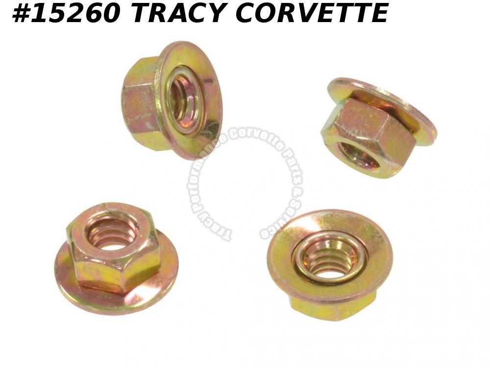 1968-1982 Corvette Outside Door Handle Nut GM# 3866846  Set of 4 Does One Car