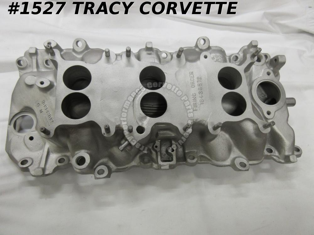 1967 Corvette Used Alum 3894382 427/400 HP Intake Dated 3/20/67 Tri-Power 3 X 2