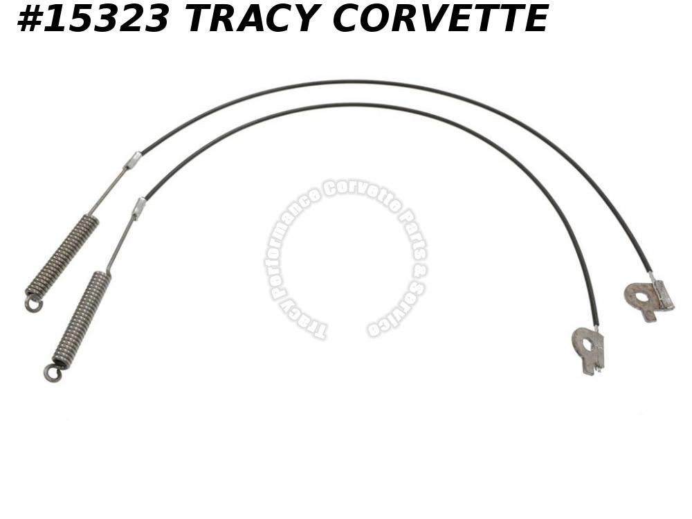 1969-1975 Corvette Soft Top / Convertible Top Tension Cables for GM# 3958720