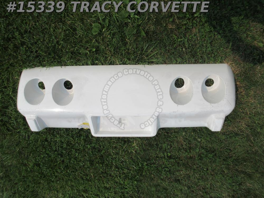 1976-1979 Corvette Rear Bumper Cover GM# 380000 Fiberglass Hand Lay Up - Late 76