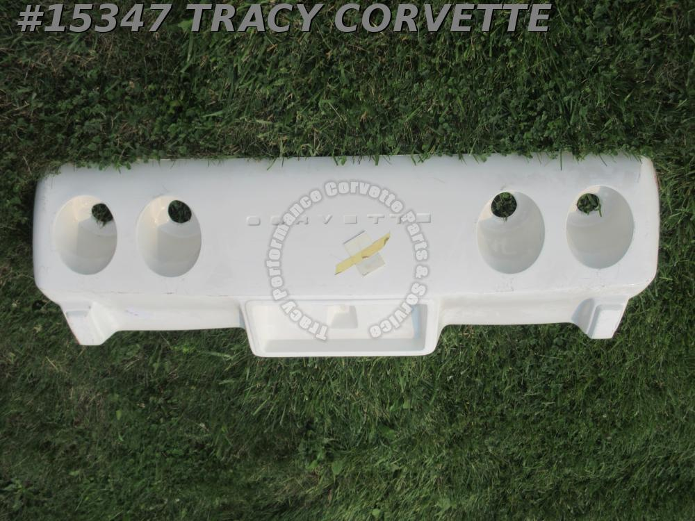 1975-1976 Corvette Rear Bumper Cover GM# 347897 Fiberglass Hand Lay Up Early 76
