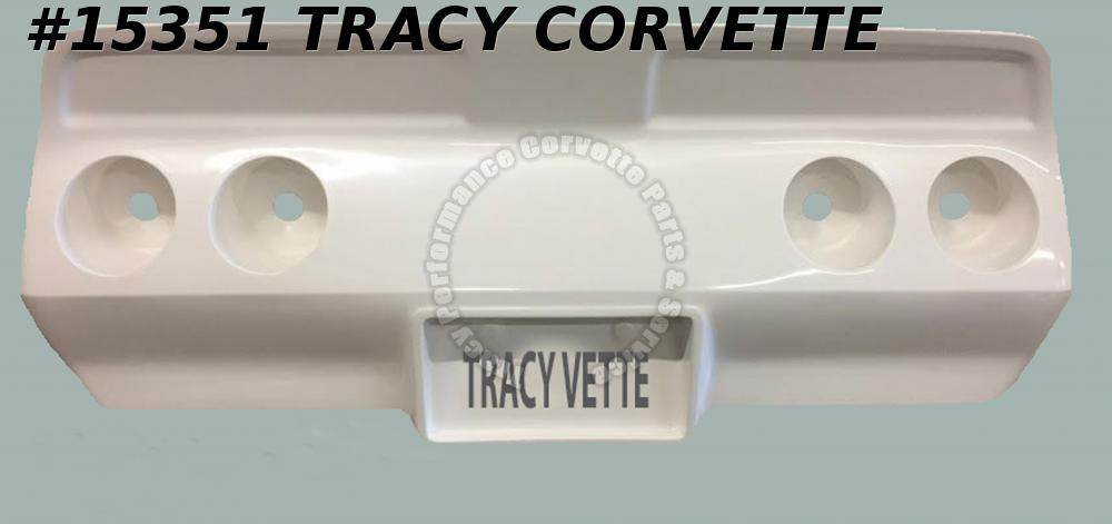 1974-1979 Corvette Rear Bumper Custom High Rise Style Hand Lay Up Fiberglass