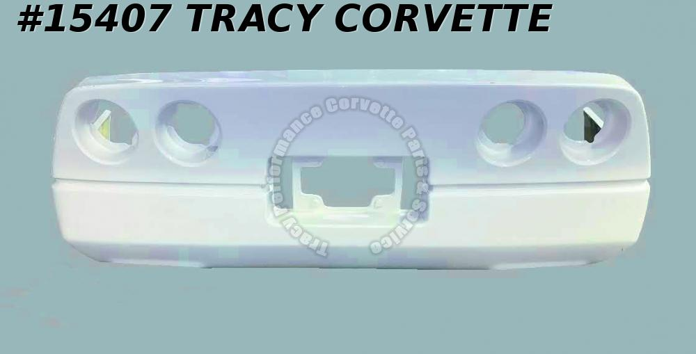 1984-1990 Corvette Bumper GM# 14030202 Rear HLU Fiberglass Stock Style