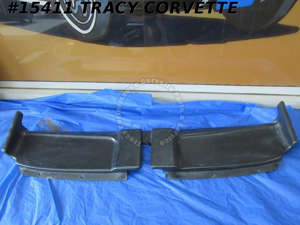 1968-1975 Corvette Soft Top Convertible Header Trim GM# 3930340 Panel Original 4