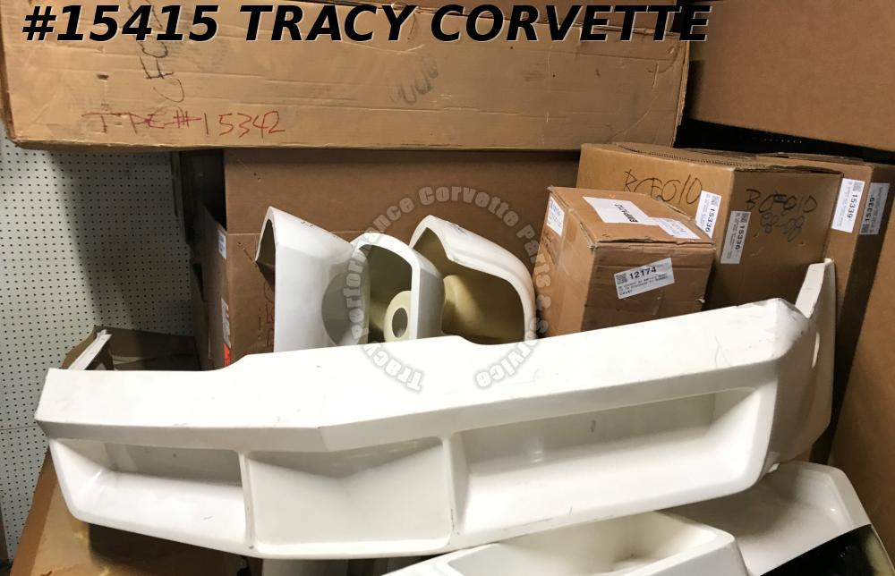 1980-1982 Corvette Front Bumper GM# 14007081 Hand Lay Up Fiberglass Seconds Qual
