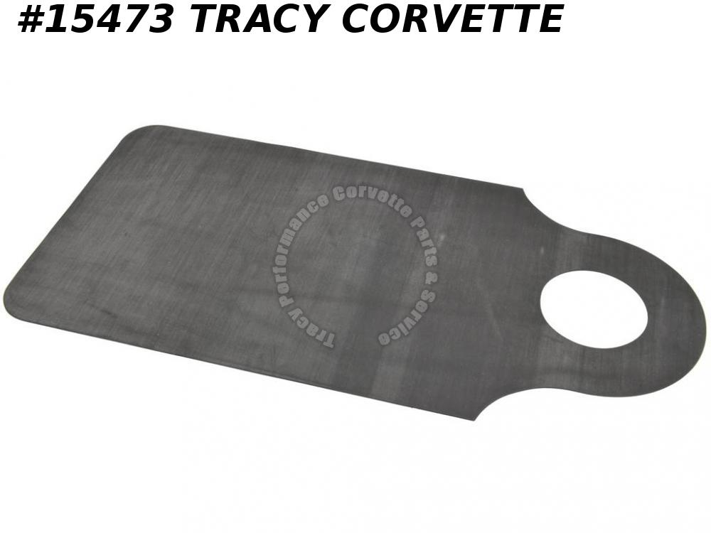 1984-1996 Corvette Gas Door Guard / Paint Saver Bib