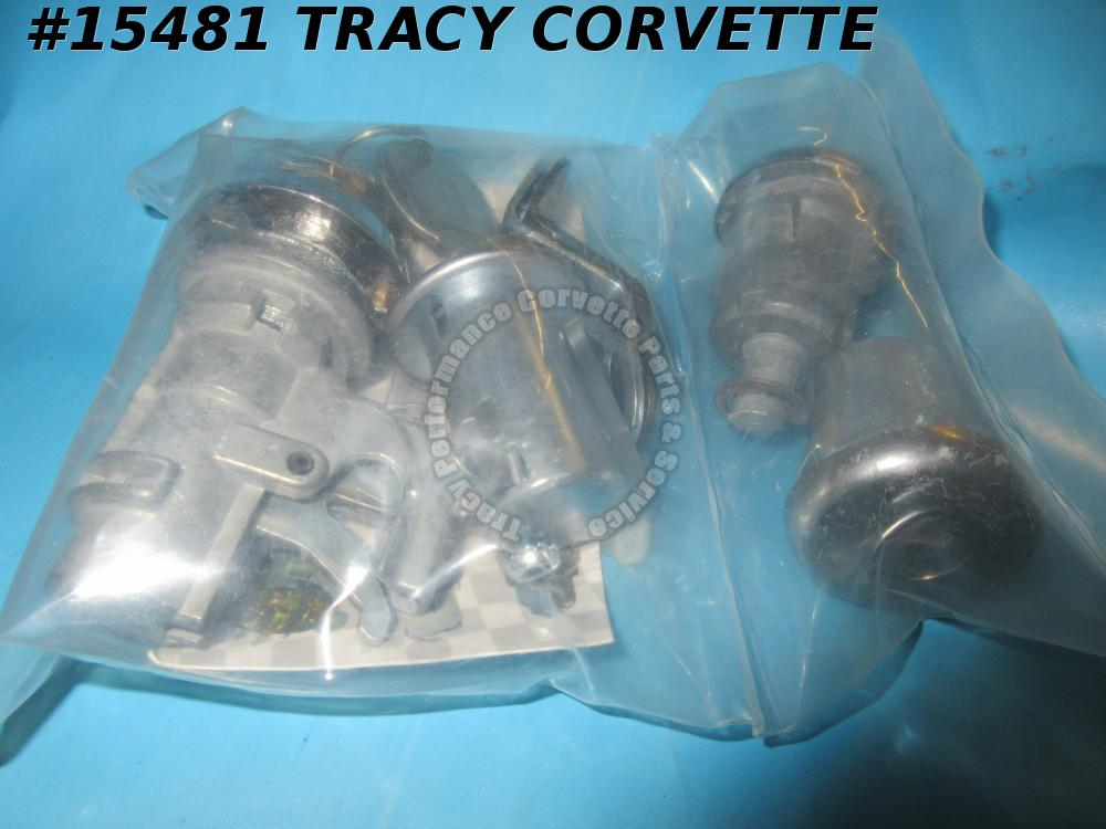 1978-1980 Corvette Lock Set With Keys    1979