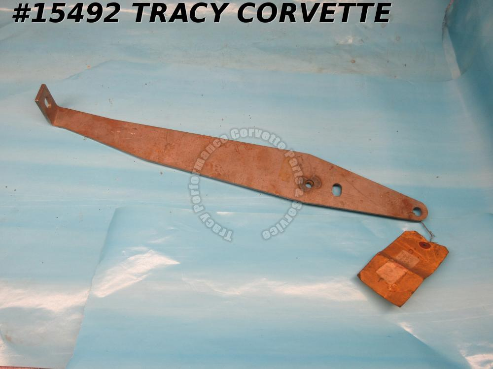 1965-1967 Corvette Bumper Bracket GM# 3866405 Center Front Through Grille *Bare