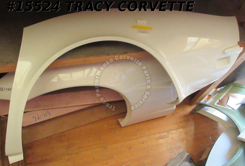 1970-1973 Corvette Quarter Panel Rear GM#334749 3936379 Left Hand HLU Fiberglass