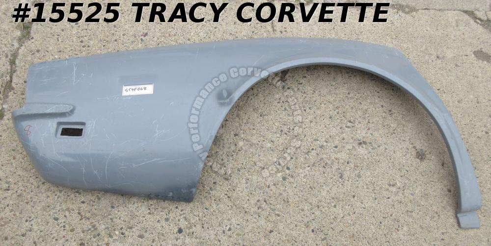 1968-1969 Corvette Quarter Panel Rear GM# 3936380 RH HLU Fiberglass **Seconds**