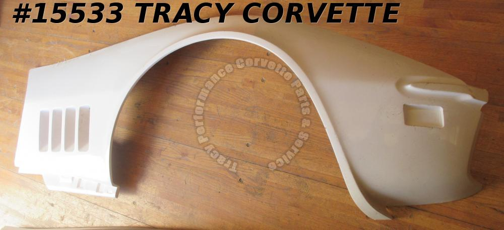 1968-1969 Corvette Side Panel Fender Lower Right Hand 3963182 White Hand Lay Up