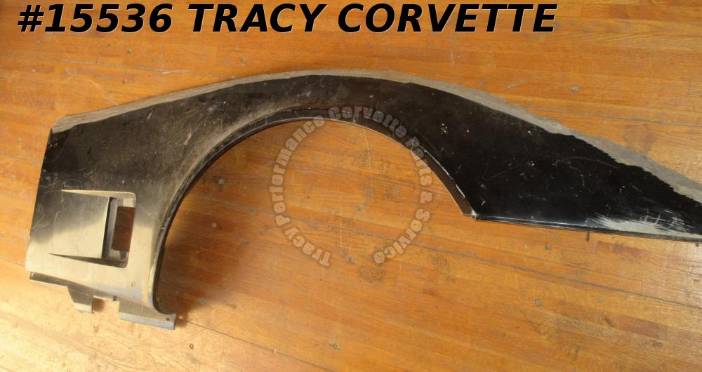 1980-1982 Corvette Front Side Fender Fiberglass RH 14030140  Survivor Original