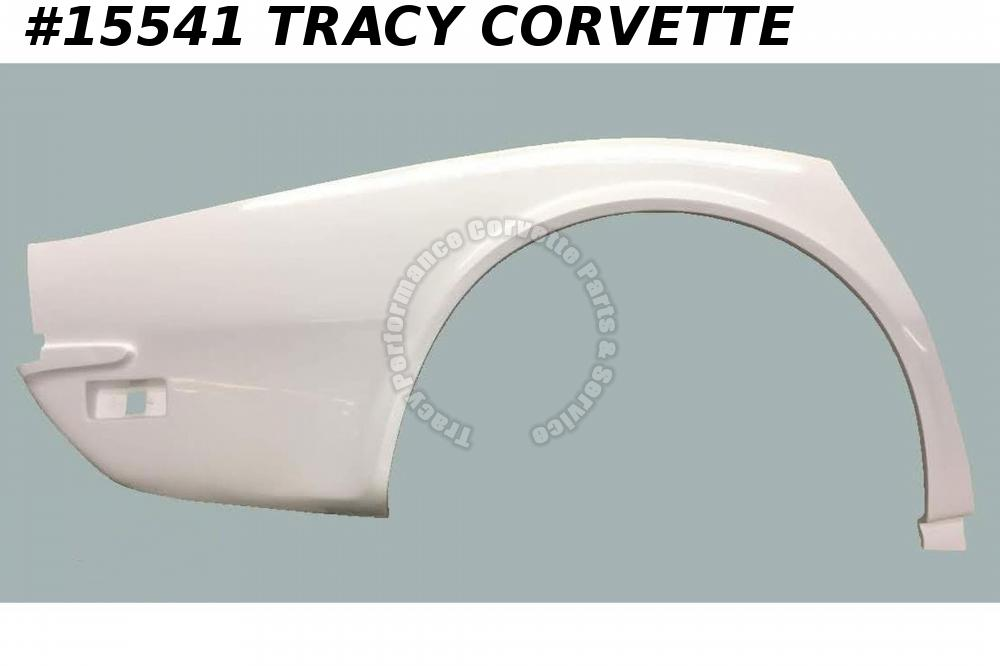 1970-1973 Corvette Quarter Panel Rear 334750 3936380 Right Hand HLU Fiberglass