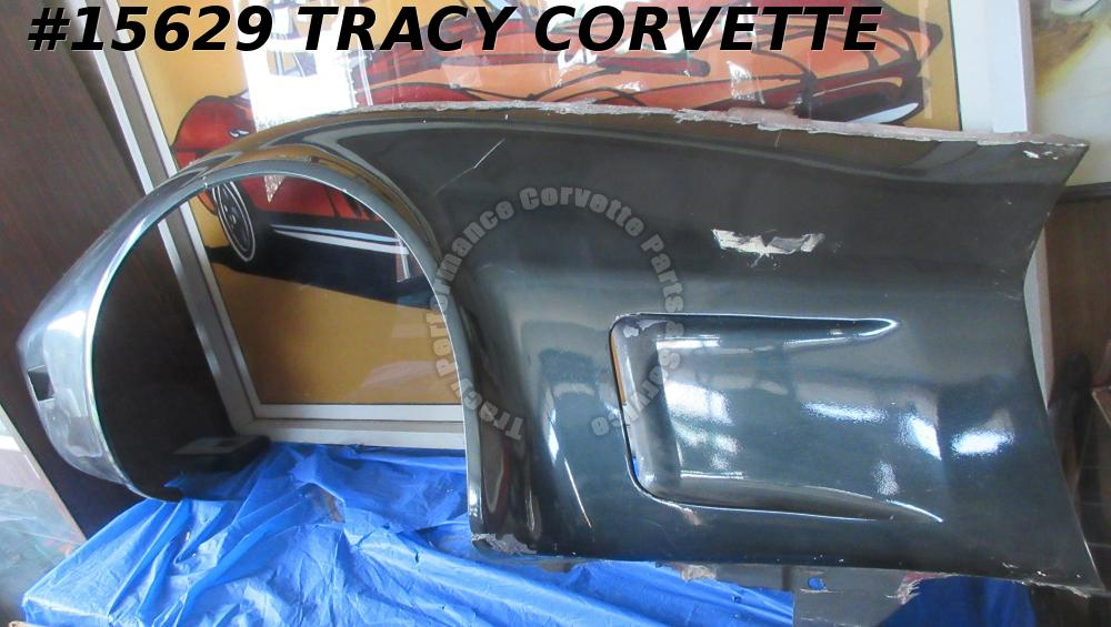 1973-1979 Corvette Front Side Fender Fiberglass Left GM# 327653 *Used Original*