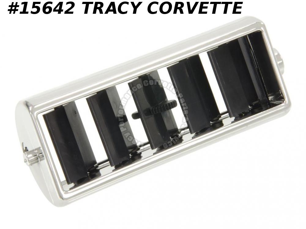 1969-1977 Corvette Center Air Vent Outlet Grille   2 Req/ car    ***In Stock***