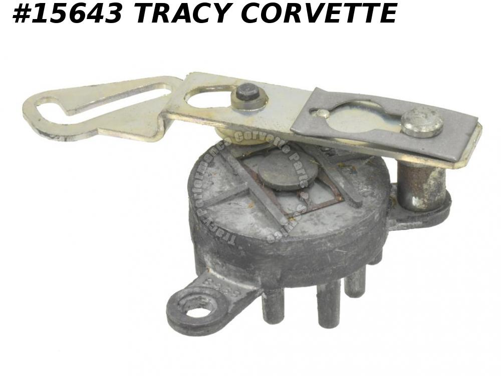 1969-1976 Corvette Climate Control Rotary Switch GM# 7309782   9 Port