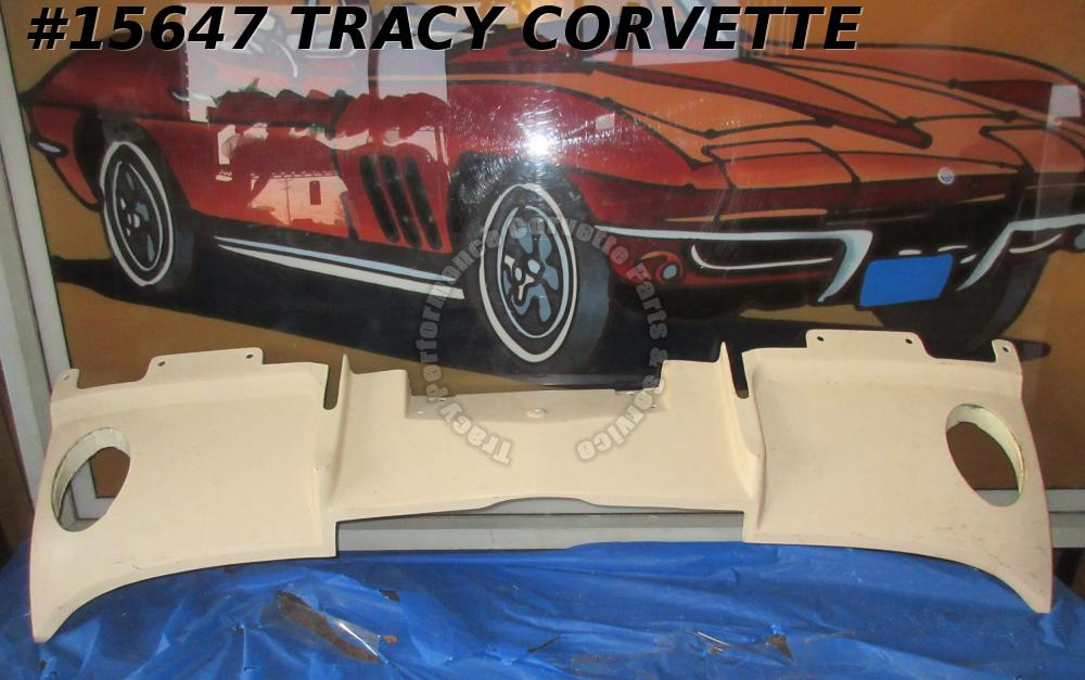 1966-1967 Corvette Filler Panel GM# 3874799 Fiberglass Rear Exhaust Valance PM