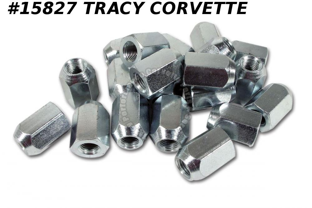1963-1966 Corvette Knock-Off Wheel Extra Long Plated Lug Nut 3852554 Set Of 20