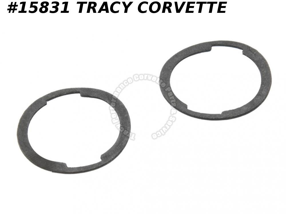 1969-1982 Corvette Door Lock Cylinder Gasket 4587931  Pair