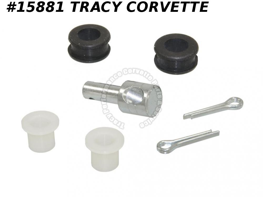 1956-1967 Corvette GM# 3716800 Accelerator Rod Installation Kit