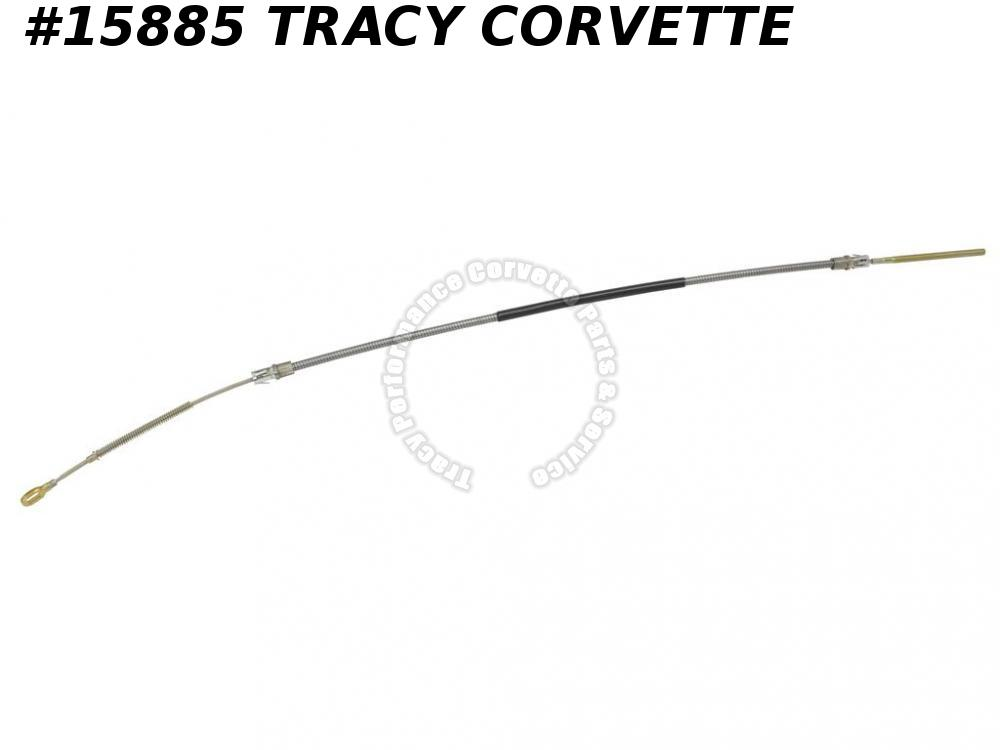 1984-1987 Corvette Rear Parking Brake Cable 14048981 Left Emergency **InStock**