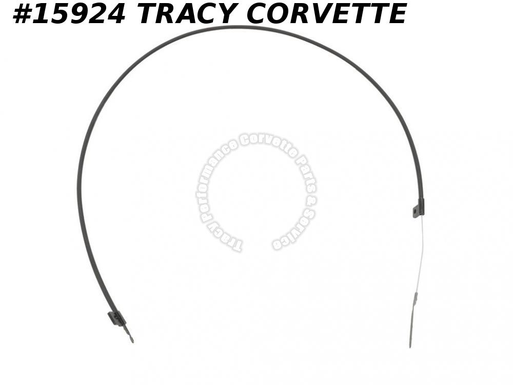 1978-1982 Corvette Hood Cross Release Cable 473284   Latch To Latch