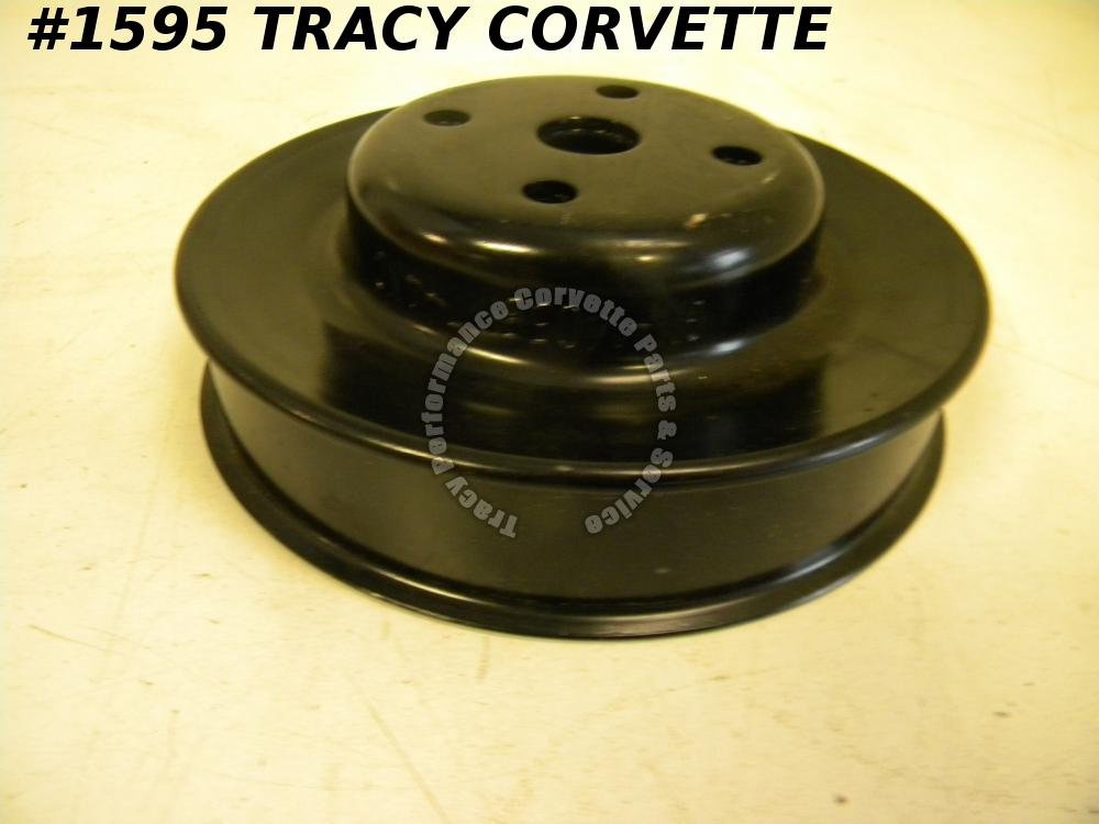 1984 Only Corvette NOS 14055117 Engine Water Pump Pulley (Steel-Stamped ANC) 84