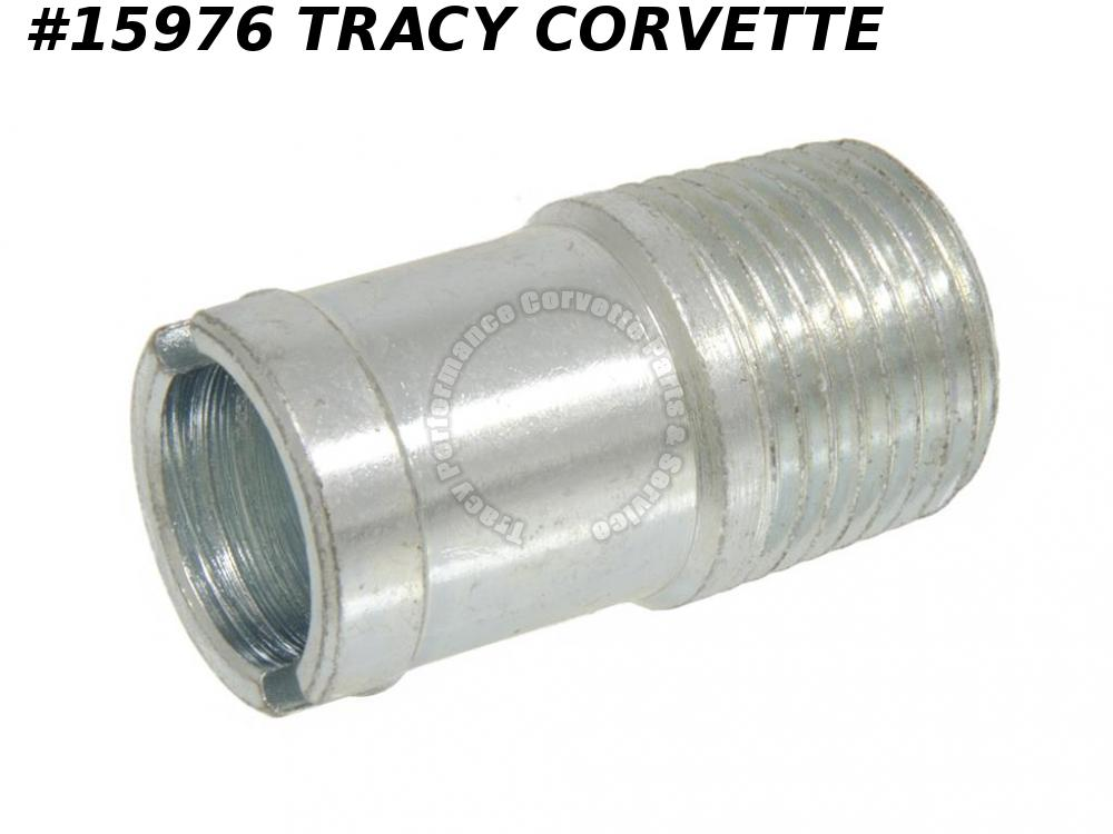 1963-1969 Corvette 3838094 Bypass Hose Fitting On Intake 327 427  (Screw In)
