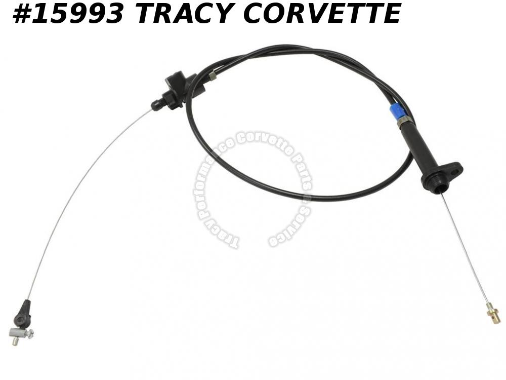 1985-1988 Corvette Throttle Control Detent Cable 25521263 Automatic Trans NOS