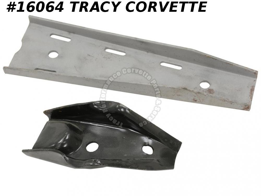 1963-1982 Corvette Front Lower A-Frame Control Arm Support W/ Upper Rear Gusset