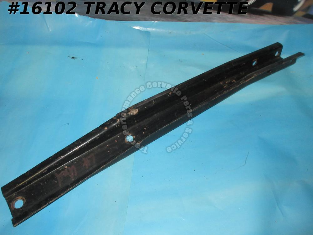 1963-1967 Corvette Bumper Bracket GM# 3848219 Front Under Car Left  *Original 1*