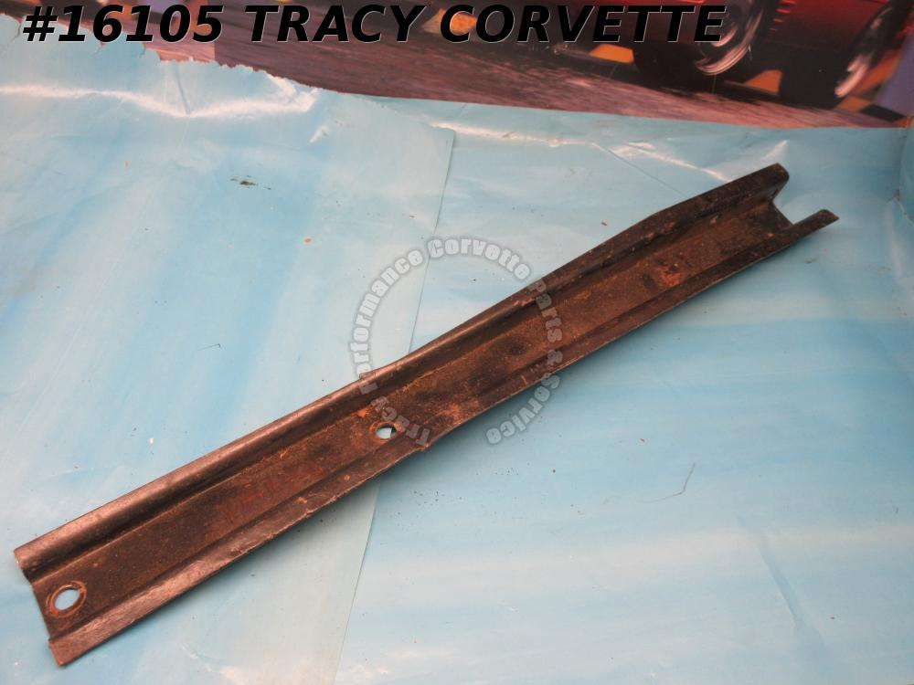 1963-1967 Corvette Bumper Bracket GM# 3848220 Front Under Car Right *Original 1*