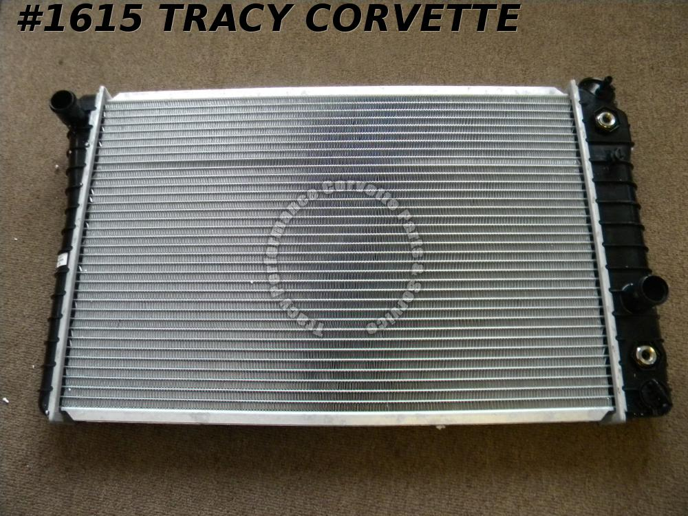 "1984-1989 Corvette New 23.625"" x 15"" 1.25"" Aluminum Core Auto or Manual Radiator"
