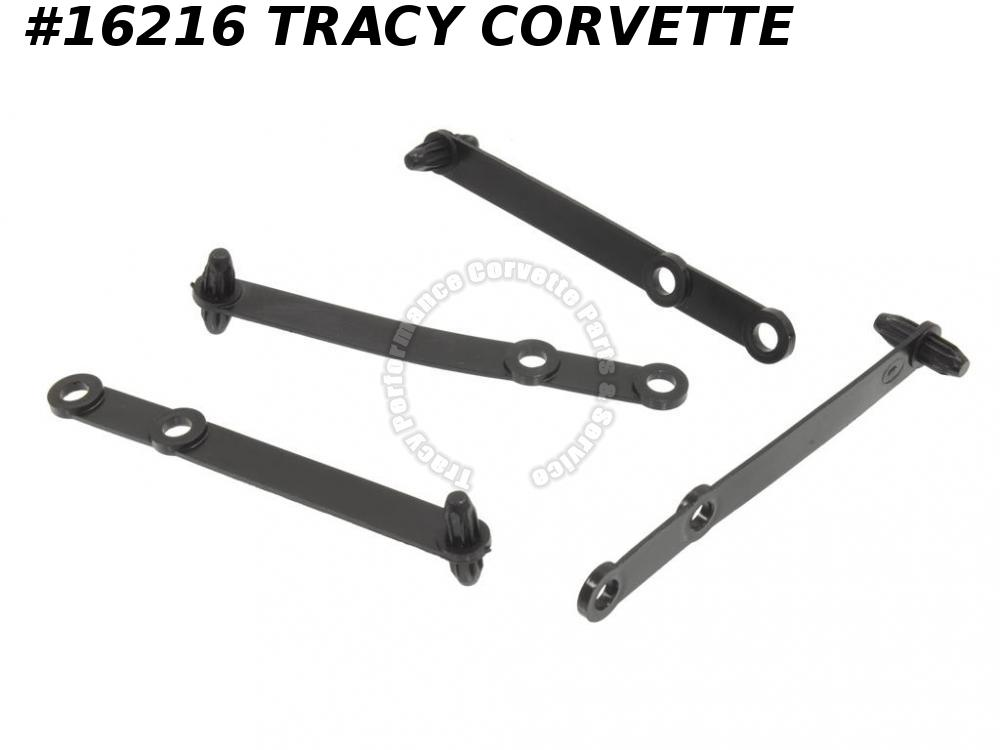 1963-1973 Corvette Black Plastic Hose GM# 3825551  Harness Tie Straps