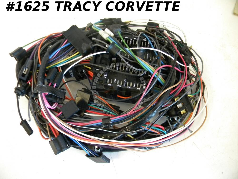 1976 Corvette New Repro 8916199 Dash Wiring Harness w/Automatic Transmissions