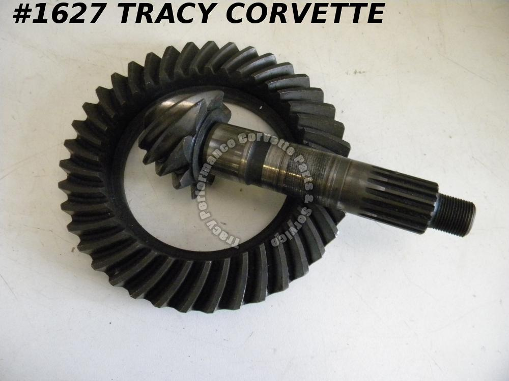 1963-79 Corvette Good Used Rare GM 3830265 3830262 4.88 Ratio Ring & Pinion Set