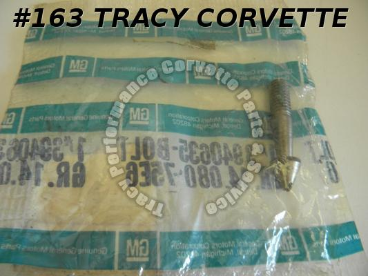 1969-1975 Corvette NOS 3940635 Rear Soft Top Bow Lock Pin 69 70 71 72 73 74 75