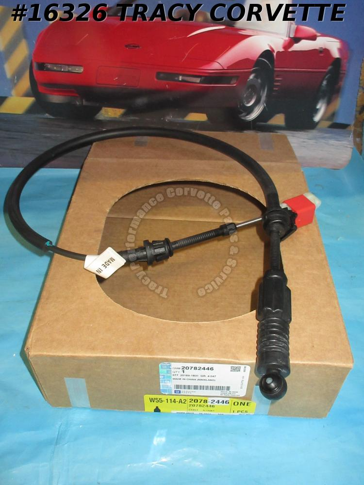 2005-2013 Corvette GM# 20782446 Shift Control Cable C6 Automatic Transmission