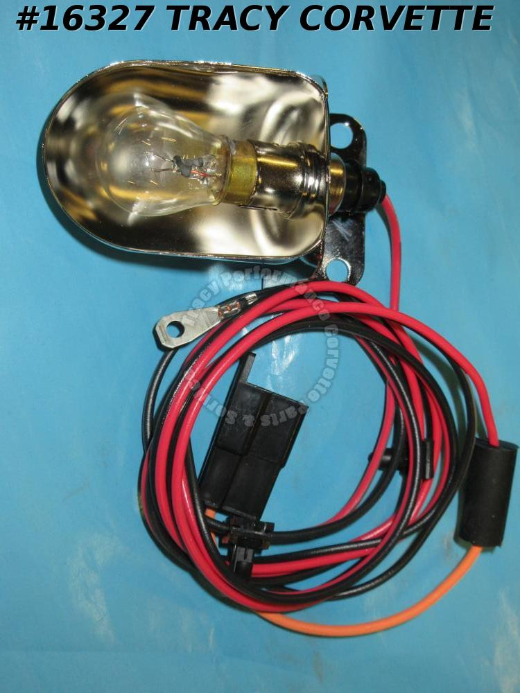 1980-1982 Corvette Under Hood Light Assembly GM# 14016284 With Wire