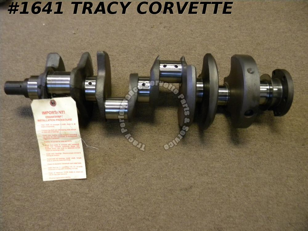 1968-1969 Chevy 327 3914672 Forged Big Journal L79 Crank Freshly Grind 020M/010R