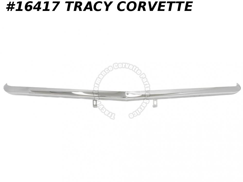1968-1972 Corvette Front Bumper GM# 3974088  Chrome Imported