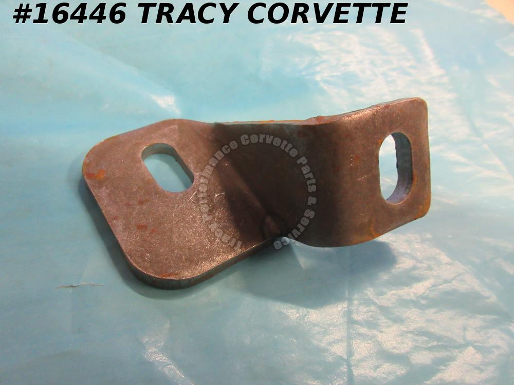 1968-1973 Corvette Bumper Brace GM# 3937055 Rear Center To Frame Left bare steel