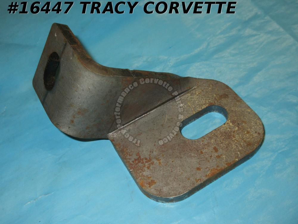1968-1973 Corvette Bumper Brace GM 3937056 Rear Center To Frame Right bare steel