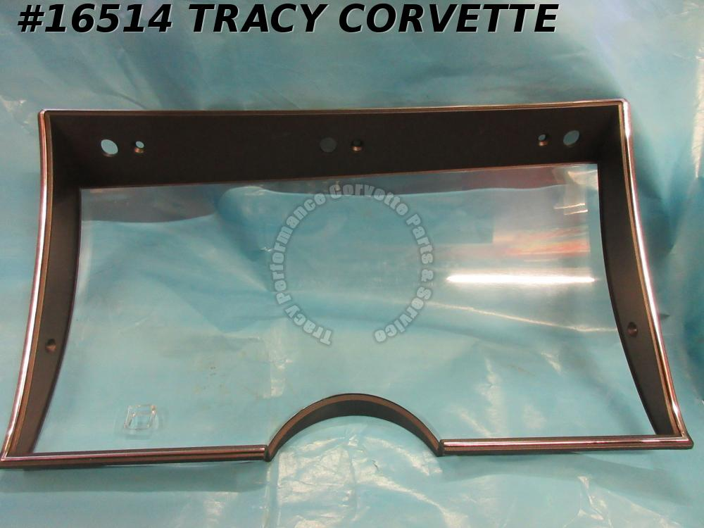 1982 Corvette Speedometer Tachometer Gauge Lens GM# 25049390 Collector Edition