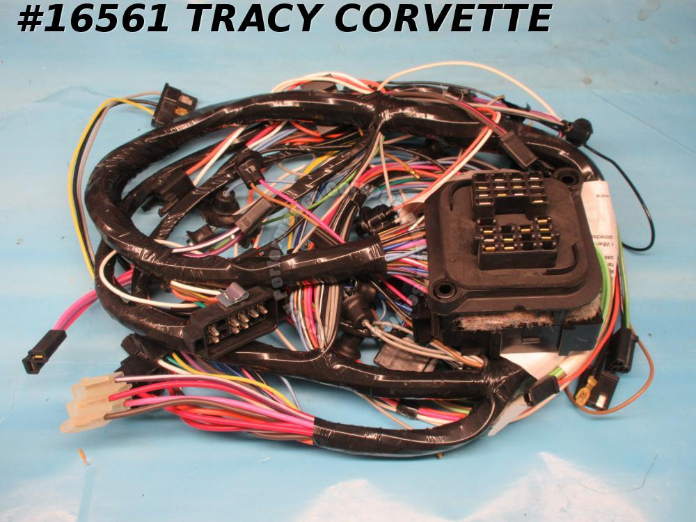 1970 Corvette Dash Main Wire Harness w/ Air Conditioning  OEM Quality - In Stock