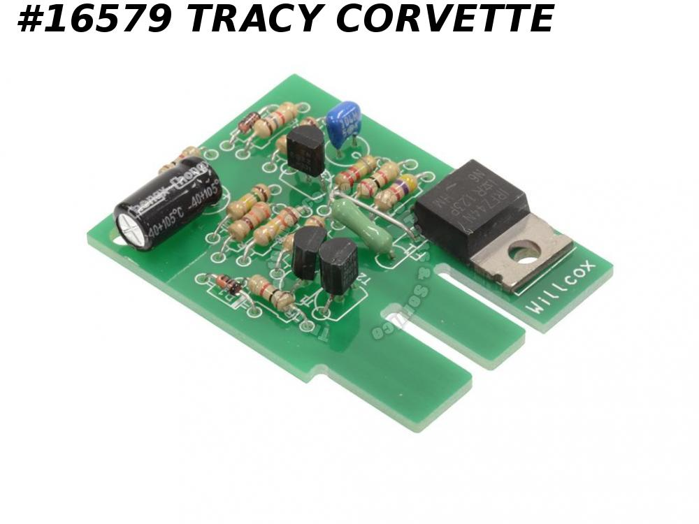 1978-1982 Corvette Courtesy Interior Light Delay Timer Circuit Board Only